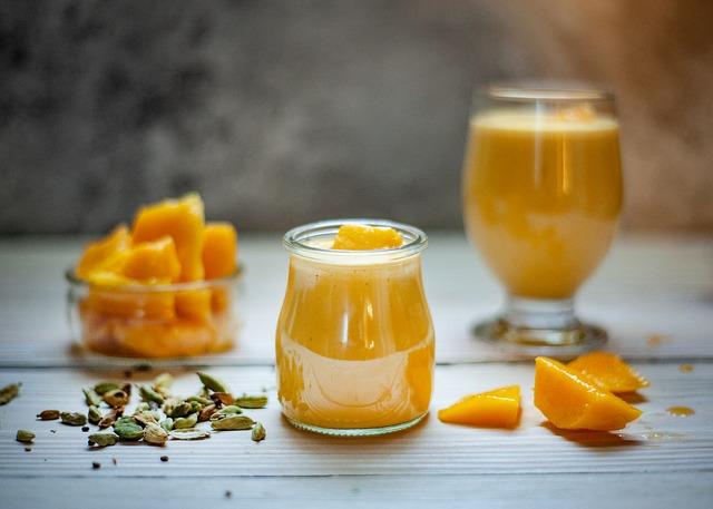 فوائد المانجو و عصير المانجو الصحيه